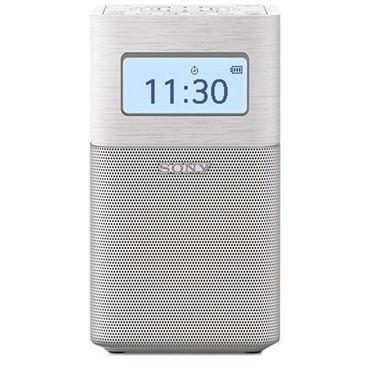 【易购】索尼(SONY)蓝牙音箱兼FM/AM收音机SRF-V1BT(白色)