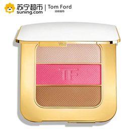 【易购】汤姆福特(Tom Ford)璀璨流光塑颜盘 20g 02#Soleil afterglow 高光修容腮红大白盘