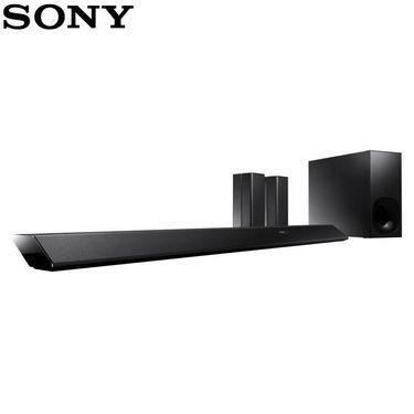 【易购】索尼(SONY) HT-RT5 家庭影院 5.1声道 电视音响 NFC蓝牙回音壁 无线环绕音箱 (黑色)