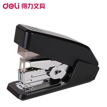 【易购】得力(deli)0466小型省力型订书机 黑色