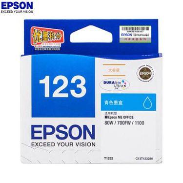 【易购】爱普生(EPSON)SW T1232 青色墨盒 适用Me Office 80W 、1100、700FW