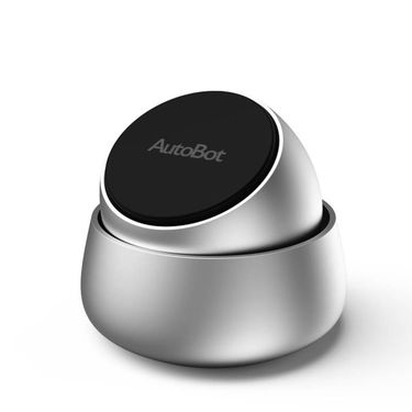 【易购】车车智能 AutoBot Q 磁吸手机支架 银色 ABM0007