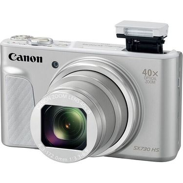 【易购】佳能(Canon)PowerShot SX730 HS 银色 数码相机(2030万像素 40倍光变 24mm广角