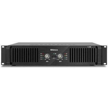 【易购】新科(Shinco)K-500 专业KTV纯后级功放机 舞台演出婚庆大功率后级功率放大器