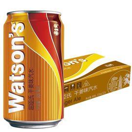 【易购】【苏宁超市】屈臣氏(Watsons)干姜汽水330ml*24 整箱
