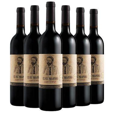 【易购】【苏宁易购超市】张裕(CHANGYU)酿酒师赤霞珠干红葡萄酒750ml*6整箱装