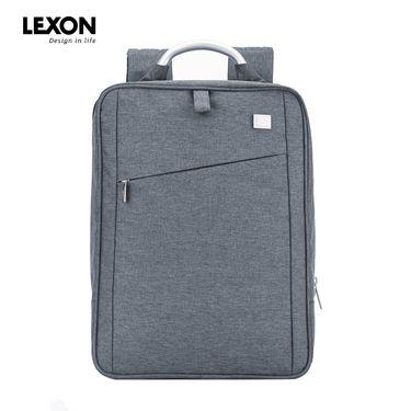 LEXON 法国乐上商务双肩包双层电脑背包方泼水时尚旅行包