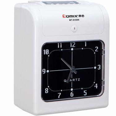 齐心 (Comix)MT-6100N 微电脑考勤机/卡钟(停电不打卡)