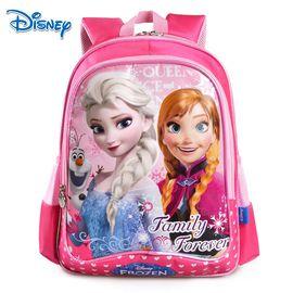 Disney/迪士尼 书包小学生女生青少年双肩包休闲背包男孩4-6年级初中生 SP20195 粉色