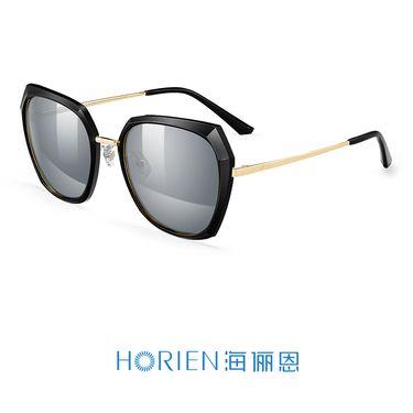 海俪恩 太阳镜女款时尚大框墨镜圆脸方框 N6625