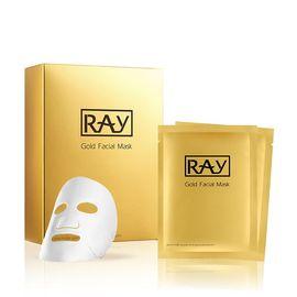 RAY 妆蕾RAY 金色蚕丝面膜 20片/2盒 补水保湿 提亮祛黄 新旧版本随机发货