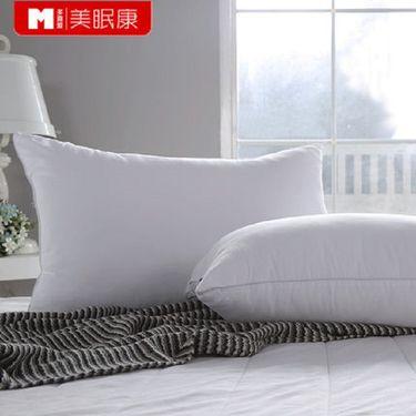 多喜爱 美眠康出品单人枕芯一对轻柔舒适成人枕头中枕透气两只装