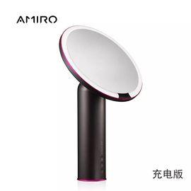 AMIRO 化妆镜O系列小黑镜日光镜LED化妆镜带灯台式镜子化妆镜女