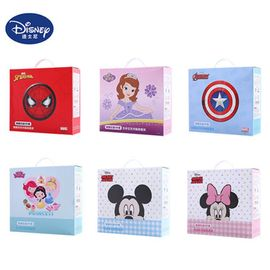 Disney/迪士尼 儿童碗餐具套装注水保温不锈钢婴儿辅食碗勺卡通宝宝吃饭碗HM1633