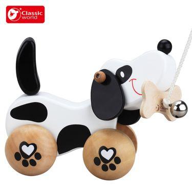 可来赛 卡通拉绳拖拉玩具1-2周岁儿童玩具宝宝爬行学步训练
