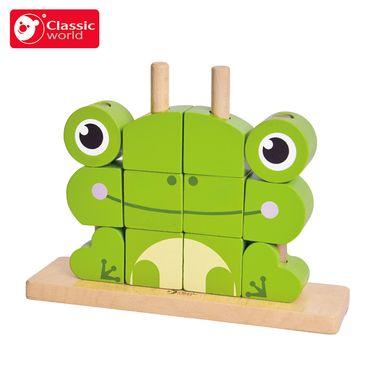 可来赛 宝宝拼装想象叠叠高堆堆乐积木组合1-3-6周岁儿童益智玩具