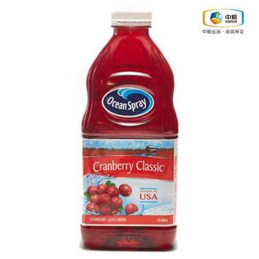 Ocean Spray/优鲜沛  Ocean Spray优鲜沛蔓越莓汁饮料(经典原味)1.5L(美国进口 瓶)*2瓶