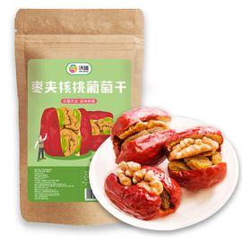 沃疆 枣夹核桃葡萄干258g/袋 干果零食特 产一等红枣子夹核桃脆