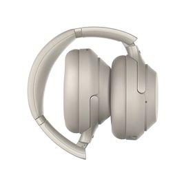 SONY/索尼 WH-1000XM3 头戴式无线蓝牙降噪耳机 铂金银
