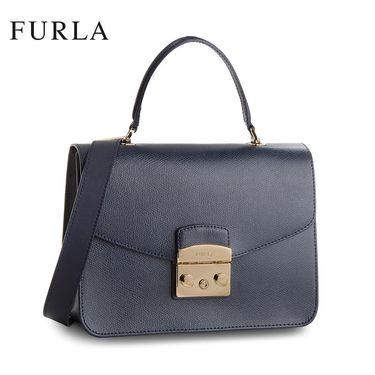 FURLA /芙拉 METROPOLIS系列潮流单肩手提锁扣包 962601  多色可选 洲际速买