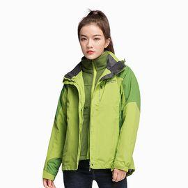 Polar Fire 极地火户外冲锋衣女士加绒加厚三合一可拆外套冬季防风衣登山服CY211