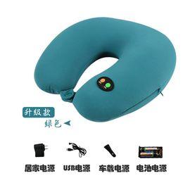 万阳 U型按摩枕 四合一脖子颈椎按摩器车载家用按摩枕 肩部腰背部腰椎按摩仪WY-1101