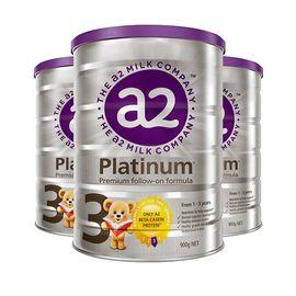 a2 白金婴儿配方幼儿奶粉三段 1-3岁  900克/罐 3罐