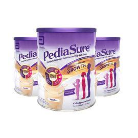 Pedia Sure  雅培 小安素营养粉 香草味 850克/罐 1-10岁 3罐装 澳洲版