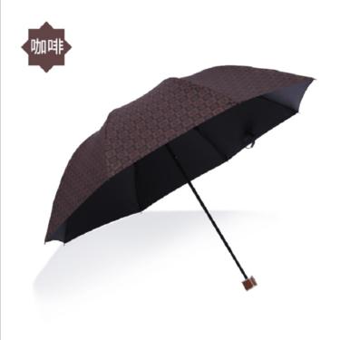 韩纳斯 雨伞女小清新折叠太阳伞三折伞韩国大号男晴雨伞