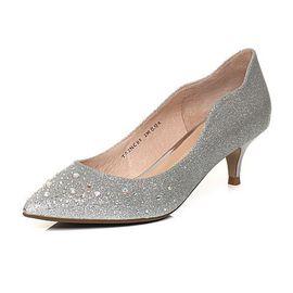 Tata 他她春季商场同款马戏之王尖头婚鞋女高跟鞋 2NCB8AQ8