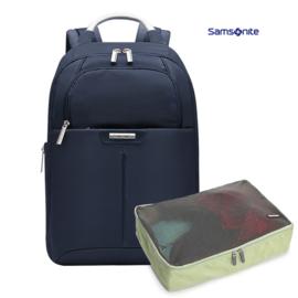 samsonite 新秀丽双肩包背包13.3英寸 BP2 黑色 送收纳袋