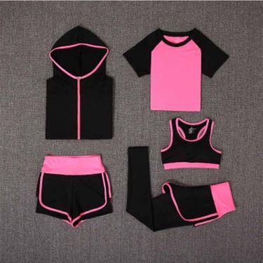 Royalpure 宝娜斯瑜伽服5件套春 夏升级版运动健身跑步健身房速干衣