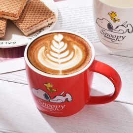 SNOOPY 史努比卡通陶瓷可爱办公杯时尚随手杯男女带手柄咖啡杯