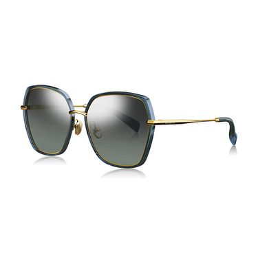暴龙 BOLON暴龙蝶形偏光太阳镜女士合金框潮流墨镜时尚眼镜BL6061