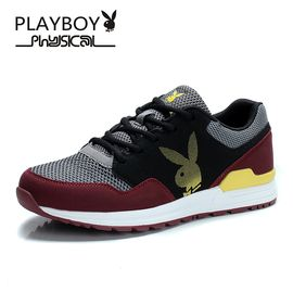 花花公子 春季男士运动鞋潮鞋休闲鞋子韩版板鞋男跑步鞋