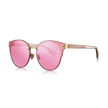 暴龙 BOLON暴龙新款猫眼金属偏光太阳镜男女时尚墨镜王俊凯同款BL8053