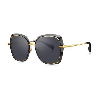 暴龙 BOLON暴龙2019新款偏光太阳镜女士大框时尚眼镜修脸墨镜BL6070
