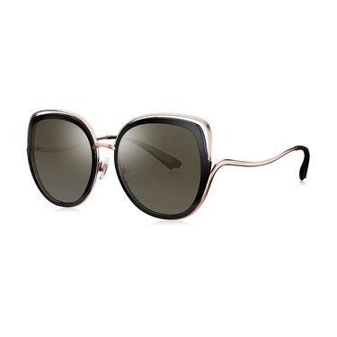 暴龙 BOLON暴龙2019新款蝶形偏光太阳镜女潮流墨镜时尚个性眼镜BL6077