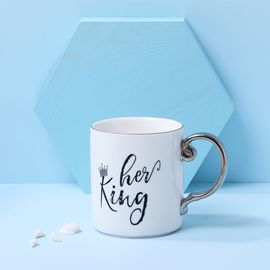 YNA 创意陶瓷描金边咖啡杯