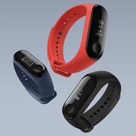 MI 【多仓发货】小米手环3 代 NFC 版(黑色) 智能运动|心率监测 NFC公交地铁移动支付