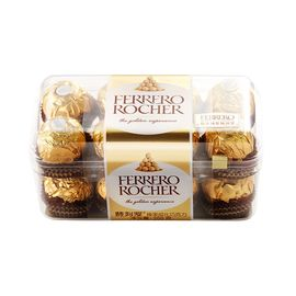 FERRERO ROCHER/费列罗 榛果威化巧克力16粒装 200g