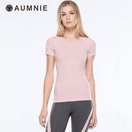 aumnie 澳弥尼丨瑜伽服运动健身跑步塑形防震含胸垫冰块T恤女士