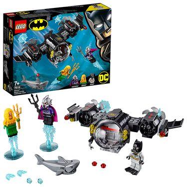LEGO 乐高 超级英雄系列 蝙蝠侠海底潜艇大战 76116