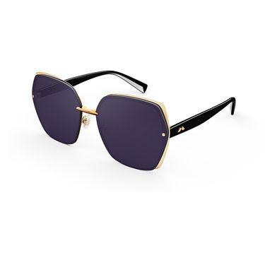 陌森 2019新款韩版复古墨镜女士大框太阳镜时尚潮人素颜眼镜MS7069
