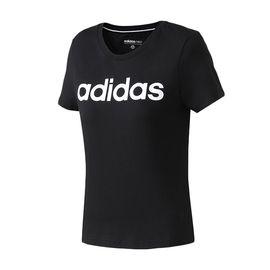 Adidas 阿迪达斯NEO2019春季新款女运动休闲短袖T恤DW7941