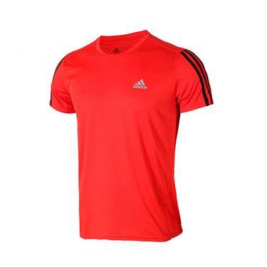 阿迪达斯 Adidas男装2019春新款运动服短袖休闲透气跑步T恤DX2005 DX2004