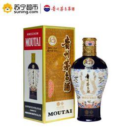 【易购】贵州茅台酒 酱香型白酒 茅台 53度 中信金陵 蓝 500ml*1瓶