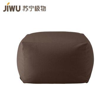 【易购】日式和风懒人沙发 深咖