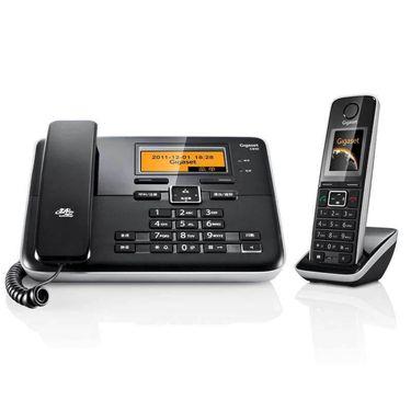 【易购】集怡嘉 (Gigaset) 电话机 C810 (钢琴黑)