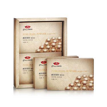 【易购】京润珍珠(gNPearl)纯珍珠粉 25g*4袋(微米级)